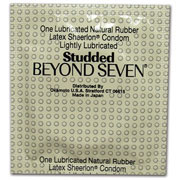 Beyond 7 Studded Condoms (Bulk)