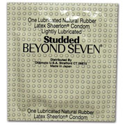 Beyond 7 Studded Condoms (Bulk)