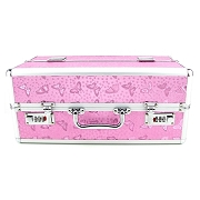 Lockable Vibrator Case - Extra Large - Pink