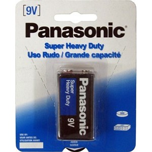 Panasonic Heavy Duty Batteries - 9V Battery